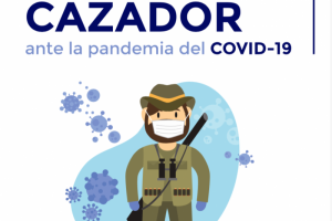 """Novo """"Guia de Boas Práticas para o caçador face à pandemia de COVID-19"""""""
